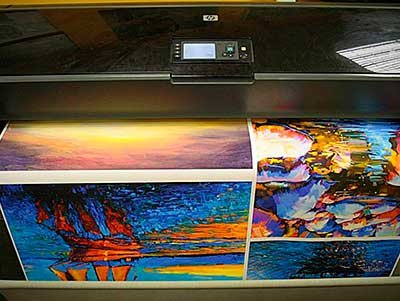 Печать и изготовление модульных картин