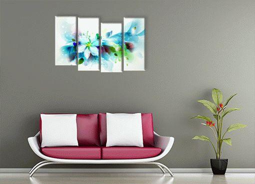 Голубой цветок3