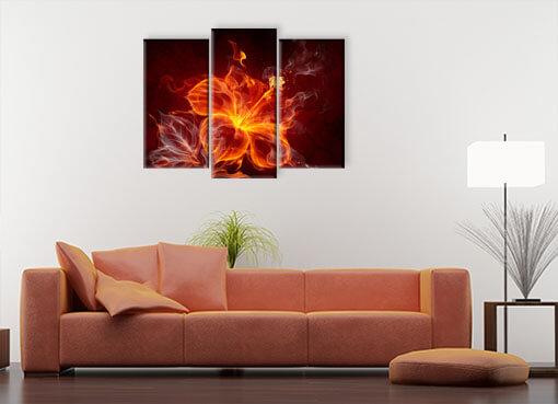 Огненный цветок3