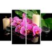 Орхидея и свечи