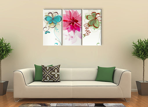 Разноцветные цветы3
