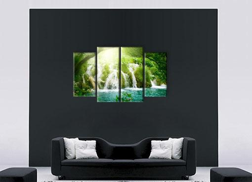 Водопад в зелени2
