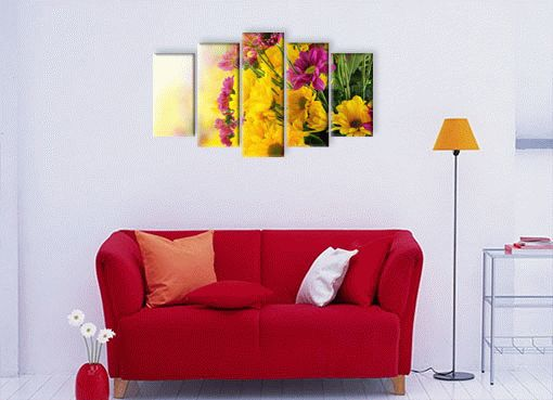 Жёлтая хризантема2