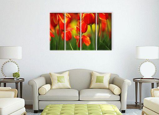 красные тюльпаны2