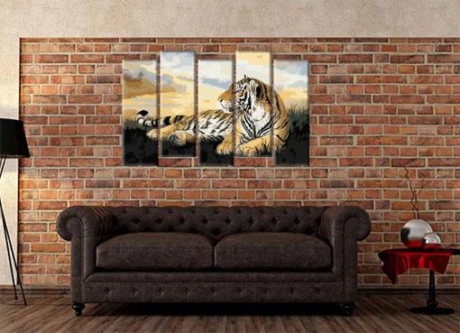 нарисованный тигр2