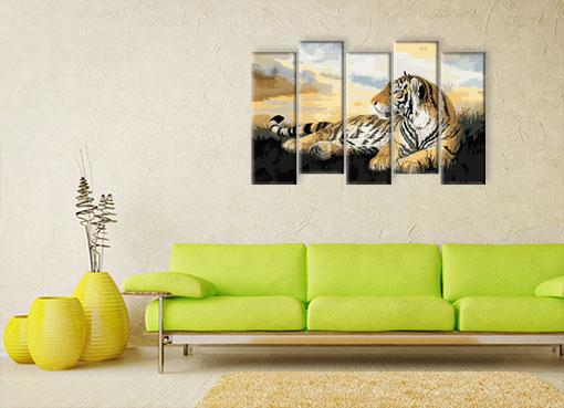 нарисованный тигр3