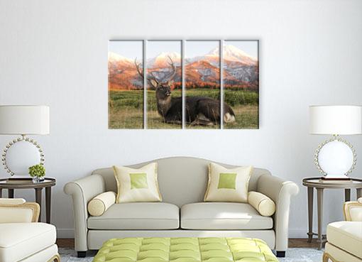 олень на фоне гор2
