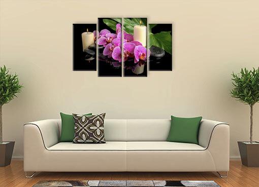 орхидея и свечи3