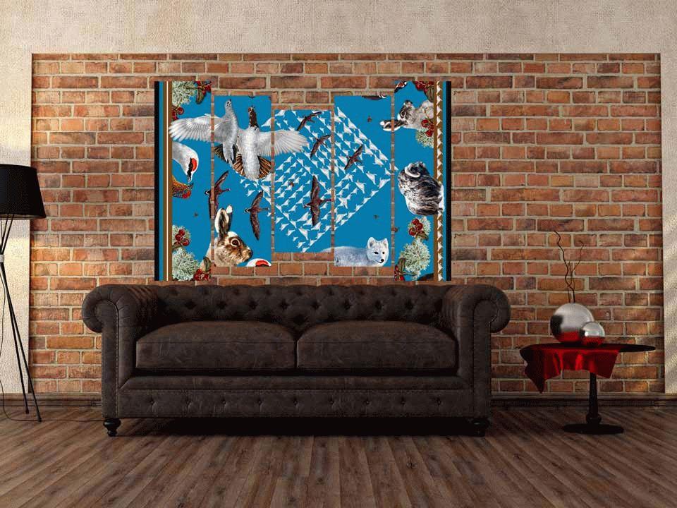 papier peint imitation brique le papier peint imitation. Black Bedroom Furniture Sets. Home Design Ideas