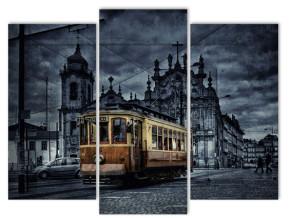 старинный трамвай