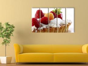 ягодное пироженное 2