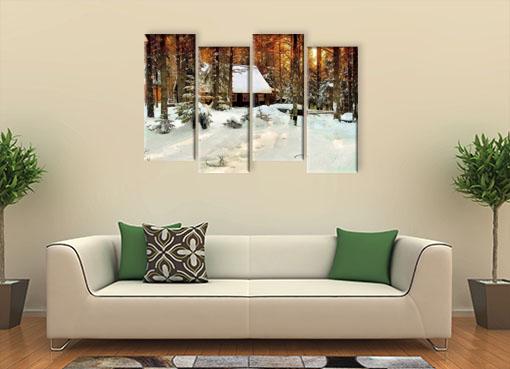 зимний лес 11
