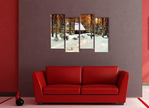 зимний лес 22