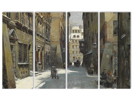 зимний переулок