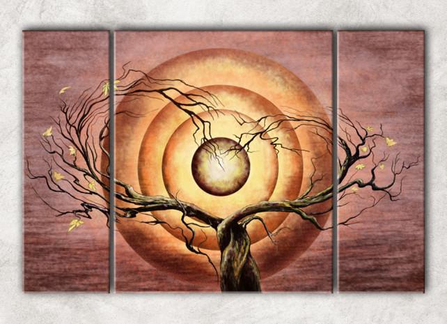 дерево любви с фоном