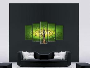 дерево на зелёном 2