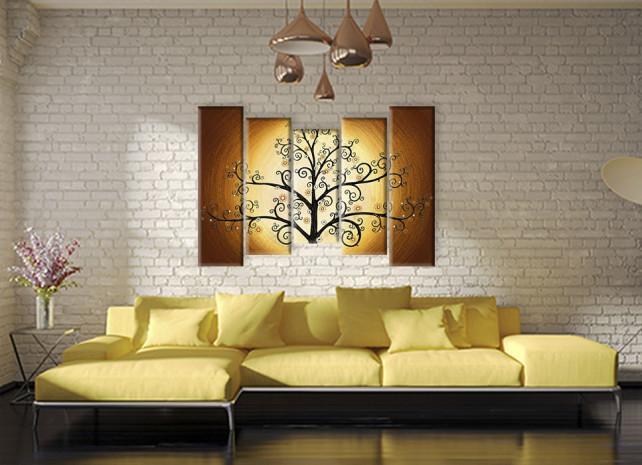 дерево в золотом 3