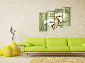 каллы и зелень 2