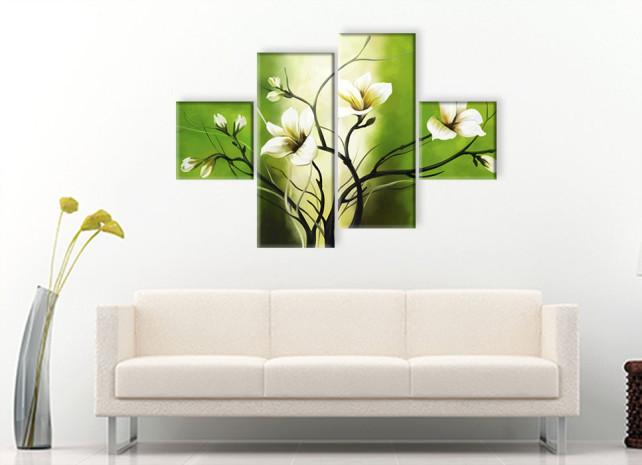 лилии на зелёном 2