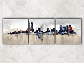 мегаполис с фоном