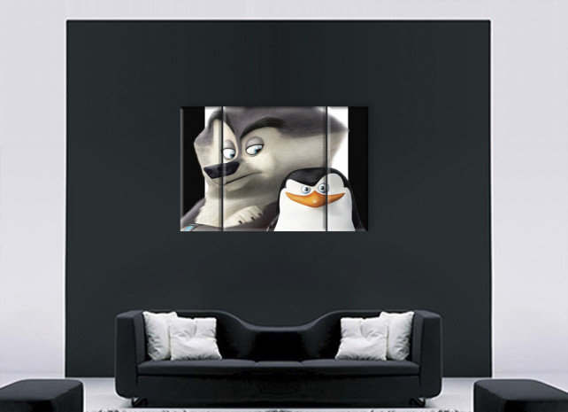 пингвин и волк