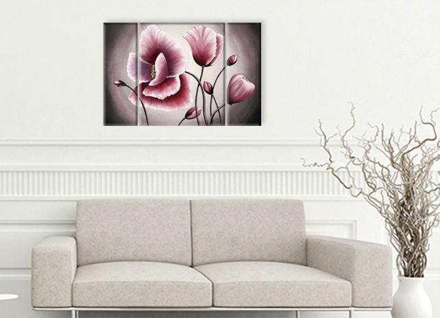 розовые маки 3