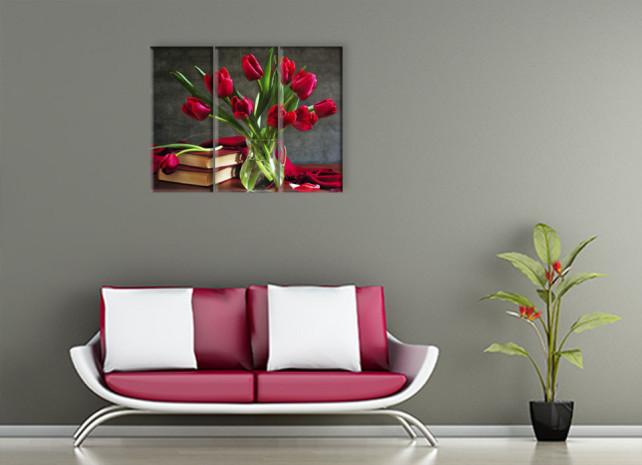 тюльпаны в вазе2