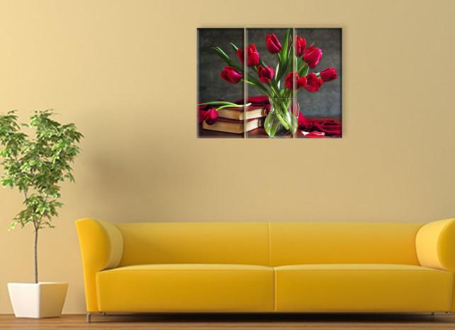 тюльпаны в вазе3