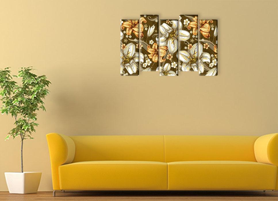 Купить модульную картину Живописные лилии в интернет ...: http://modulik.ru/internet-magazin/zhivopisnyie-lilii/
