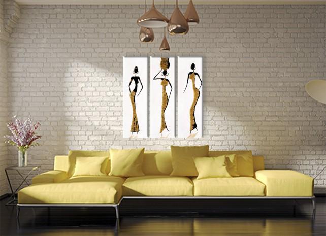 африканки в золотом 1