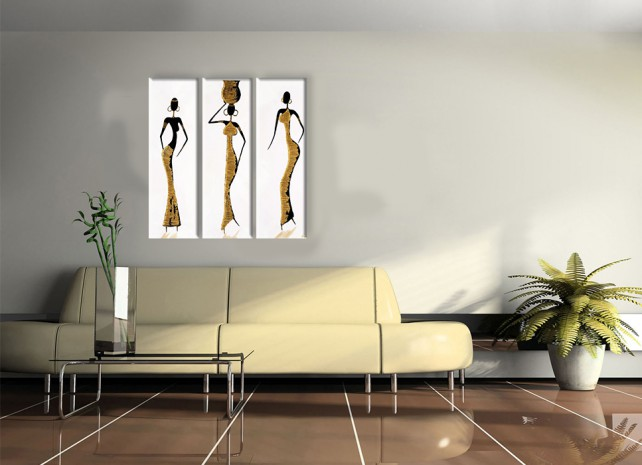 африканки в золотом 2