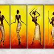 африканские танцы с фоном