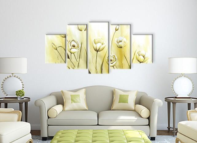 белые тюльпаны 3