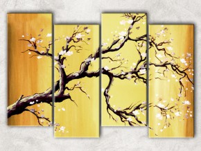 дерево вишни с фоном