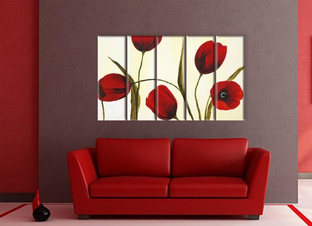 краски тюльпанов 1