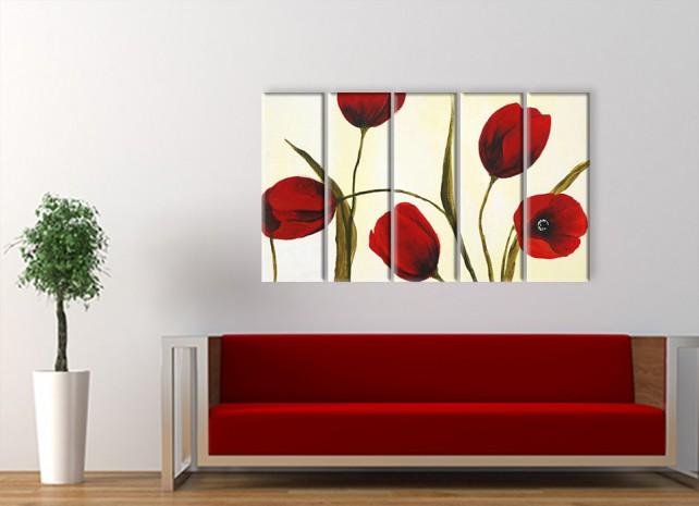краски тюльпанов 2