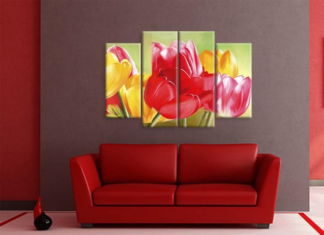 красочные тюльпаны 1