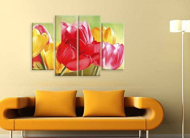 красочные тюльпаны 2