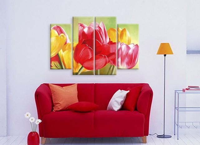 красочные тюльпаны 3