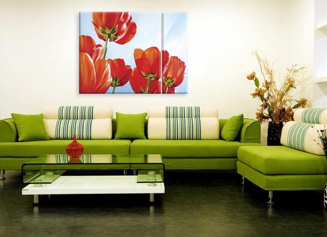 солнечные тюльпаны 3