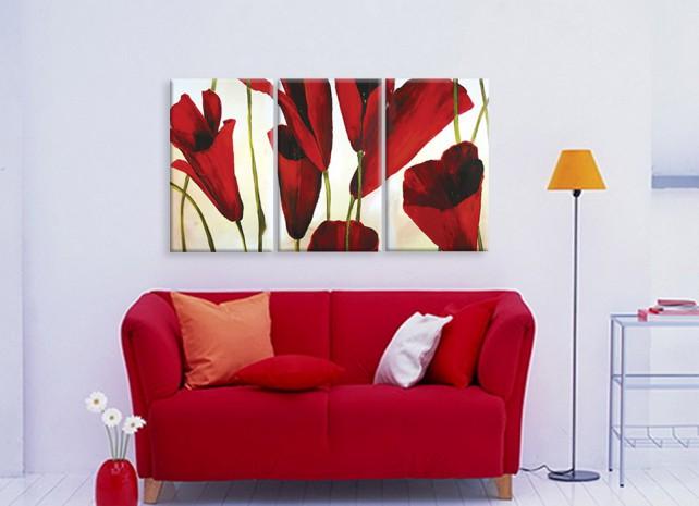 вертикальные тюльпаны 1