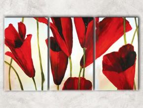 вертикальные тюльпаны с фоном