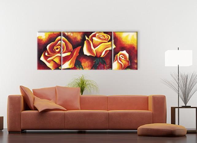 живописные розы 3