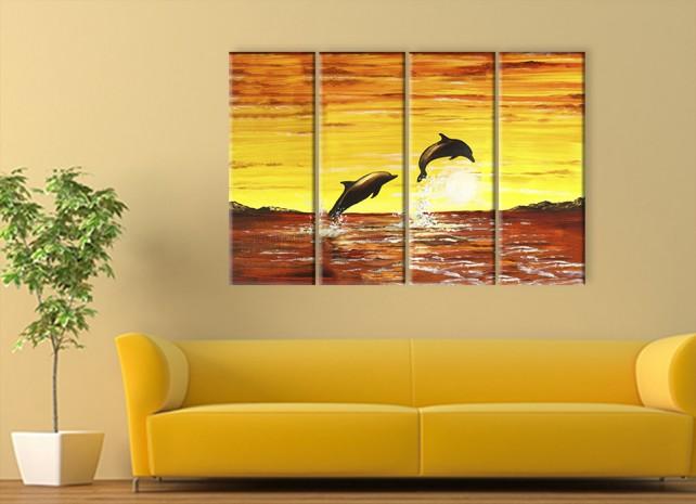 2 дельфина 2