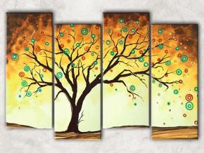игривое дерево с фоном