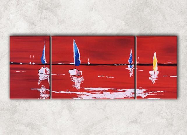 красное море с фоном