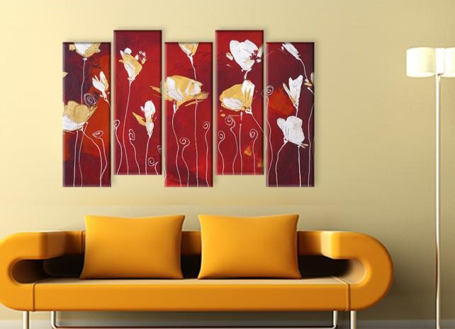 стилизованные цветы 1