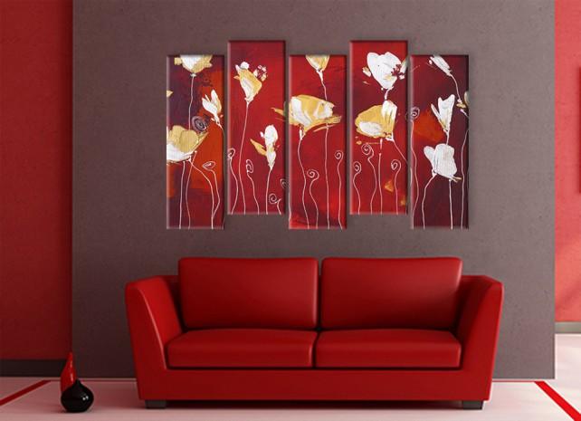 стилизованные цветы 2