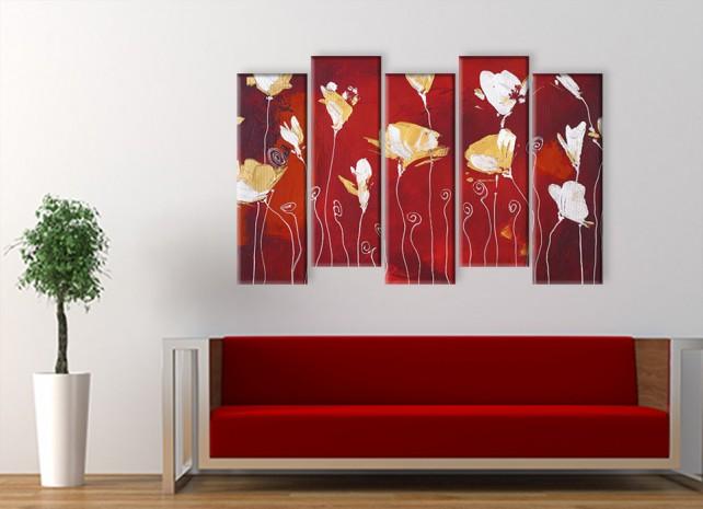 стилизованные цветы 3