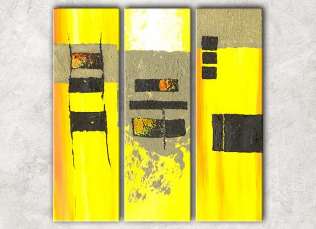 жёлтое и чёрное с фоном